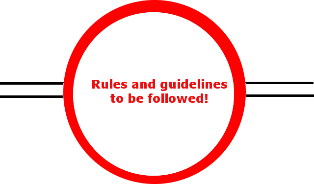 Follow the rules and guidelines in GHNP (click to enlarge)