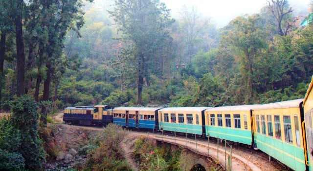 Toy trains running in Himachal