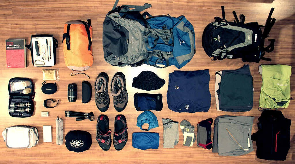 Advice on trekking gears to carry along (Click to enlarge)