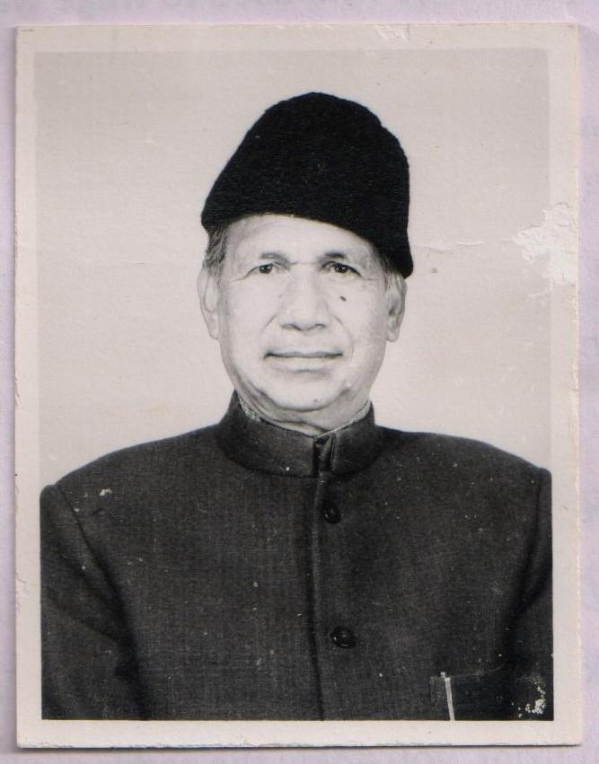 Sh Dilaram Shabab, ex-MLA (Click to enlarge)