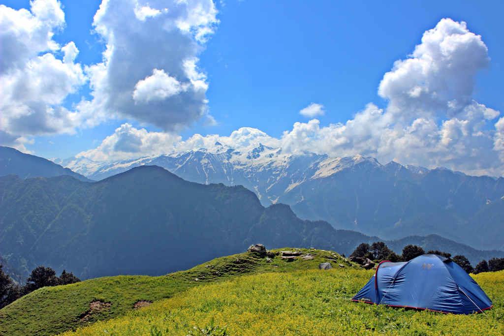 Morahani trek, Tirthan valley, GHNP (Click to enlarge)