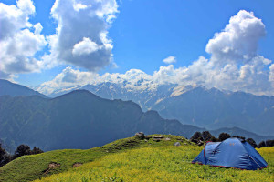 Morahani trek, Tirthan valley, GHNP (Click to enlarge)