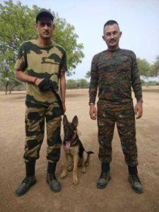 GHNP sniffer dog squad